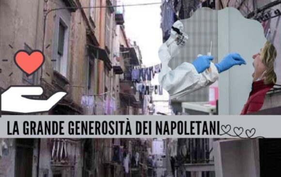 Napoli cuore d'oro anche col Covid, nel Rione Sanità arriva il 'tampone sospeso'